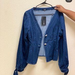 Denim jacket, dresses, cardigan, bodysuit